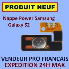 ✖ NAPPE BOUTON POWER ALLUMAGE SAMSUNG GALAXY S2 I9100 FLEX ✖ NEUF ET GARANTI