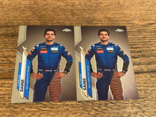 2020 Topps Chrome Formula 1 Carlos Sainz #8 2 Card Lot
