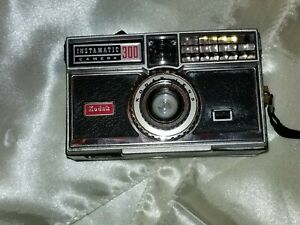 Vintage Kodak Instamatic 300 Camera With Undeveloped Roll Of Film