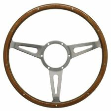 "MK1 CADDY Mountney Steering Whee, 15"" Classic Riveted Light Wood Rim. - M53SPCW"
