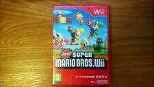 Nuevo Super Mario Bros. Wii (Nintendo Wii) Completa Con Manual