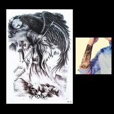 Temporary Tattoo Fake Tattoo Reaper Sensenmann 20x14cm wasserfest (HB-222)