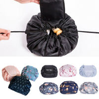 Hot Drawstring Makeup Bag Toiletry Organizer Travel Cosmetic Storage Pouch COU