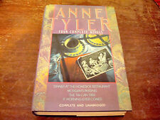 ANNE TYLER: Four Complete Novels Hardcover 1st Edition Unabridged (1990)
