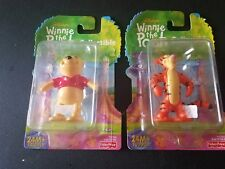 2000 Disney Winnie the Pooh Collectible Figures Lot of 2 Pooh & Tigger New