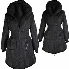 WARM BALLON WINTER JACKE DAUNEN MANTEL PARKA 40  COAT SCHWARZ ARORAK LAGENLOOK