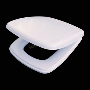 New Top Quality Rectangle Square Toilet Seat Soft Close & Quick Release- GU3030