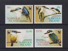 Norfolk Island - 2004, Sacred Kingfisher, Vögel Set - MNH - Sg 894/7