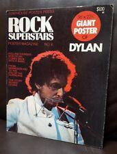 "Bob Dylan Penthouse Poster Press Rock Superstars Large POSTER MAGAZINE 36"" X 22"""