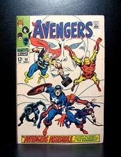 COMICS: Marvel: Avengers #58 (1968), 2nd Vision app/Vision's origin - RARE