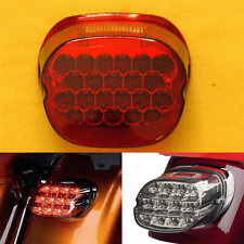 Red LED Tail Brake Light Harley Softail Dyna Fatboy Wide Glide Road Electra