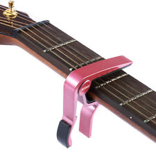 Red Tune Tune Clamp Key Trigger Single-handed Guitar Capo EM#01