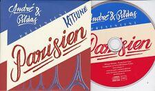 ANDRE & GILDAS PARISIEN RARE 12 TRACK PROMO CD [KITSUNE]