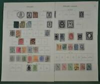 FINLAND STAMPS SELECTION ON 5 ALBUM PAGES  (C2)