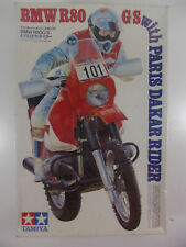 TAMIYA 1:12 BMW R80 G/S '85 PARIS-DAKAR RALLY WINNER MOTORCYCLE MODEL KIT SEALED