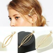 Pearl Hair Barrettes for Women