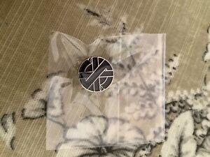 crass pin badge ,superb new badge