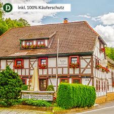 3 Tage Kurzurlaub in Stolberg im Harz im Hotel Zum Bürgergarten mit Frühstück