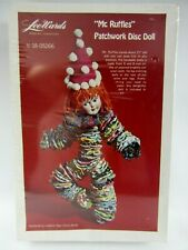 Vintage Mr. Ruffles Patchwork Disc Doll Kit Yo Yo Doll Nip LeeWards 18-05266