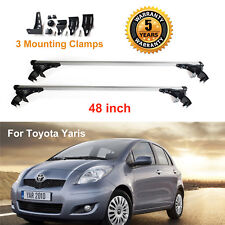 New Car Roof Cross Bar Cargo Luggag Carrier Rack For Toyota Yaris 2007 - 2011