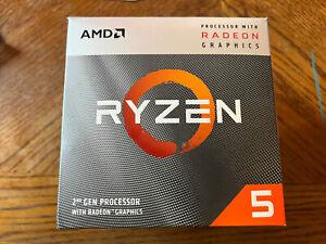 AMD Ryzen 5 3400G 3.7GHz 4 Core Wraith Stealth Cooler Processor