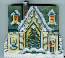 Brandywine Santa's Village: TRIM-A-TREE SHOP Wooden Shelf Sitter CHRISTMAS