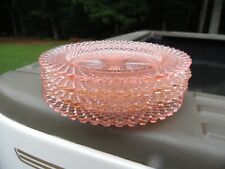 Vintage Miss America Pink Depression Glass / Lot Of Four Coasters / Rare