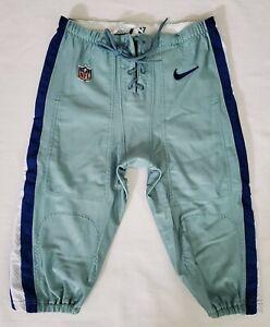 #97 of Dallas Cowboys Player Worn Seafoam Green Football Pants - Size 38 Short