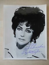 "Elizabeth Taylor Autographed 8"" X 10"" Photograph with Signed Letter from Estate"