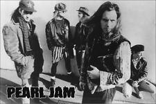 "Pearl Jam Group Photo Poster on the Street  24"" x 36"" Eddie Vedder"