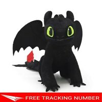 "8"" TOOTHLESS How to Train Your Dragon 3 DreamWorks Hidden World Movie Doll Plush"