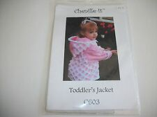 Chenille-It Toddlers Hooded Jacket Pattern Packet