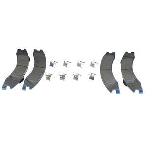 Hardware Kit Included CKD Premium Ceramic Brake Pad Set fits Rear 2013 Ford E-250