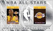 NBA All Stars - KOBE BRYANT - Los Angeles Lakers - Silver stamp - MNH
