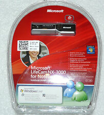 MICROSOFT LIFECAM NX-3000 WEBCAM NOTEBOOKS 1.3MPx HD DELL 41GTH. NEW.