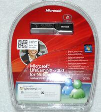 MICROSOFT LifeCam nx-3000 WEBCAM NOTEBOOK 1.3mpx HD DELL 41gth. NUOVO.