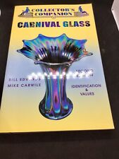 Lot Of 3 Books - Carnival Glass, Warman's Glass, Antiques & Collectibles