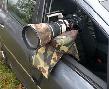 Grappler Camera Bean bag, Wildlife Photography Bean Bag. Army Prefilled
