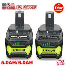 20X 6.0AH 18V For Ryobi One+ Plus P108 Lithium Battery P104 P105 P102 P103 P107