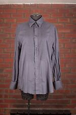 H&M  Casual Dress Shirt Button Front Long Sleeve (Large) 16 1/2
