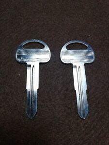 Replacement Key Blank Fits 1998 1999 2000 Isuzu NPR NRR NQR FSR