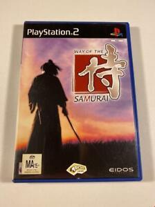 Way of the Samurai PS2 GC PAL