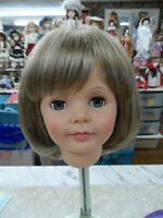 "NEW STYLE Cathie Lee! wig for PATTI PATTY PLAYPAL ""DORIS"" GOLDEN BLOND SZ 19 1/2"