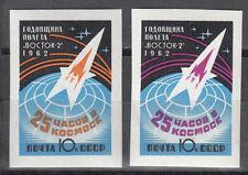 CCCP/URSS n. 2632b -2633 B ** WOSTOK 2 - 1. anniversario