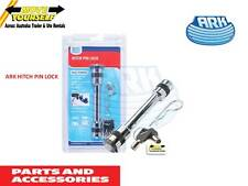 PL80B ARK HITCH PIN LOCK WITH 2 KEYS plus R CLIP  TRAILER BOAT MOTORHOME CARAVAN