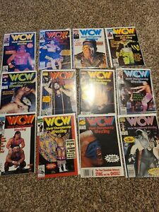 WCW Comics Marvel 1-12 Full Run Set Sting Vader Cactus Jack