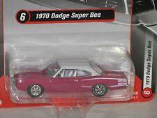 Racing Champions 1/64 1970 Dodge Super Bee PLUM w/ WHITE TOP Version A