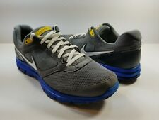 Nike Lunarfly+ 2 Breathe Men's Running Shoes Gray/Blue/White/Yellow - Size 8
