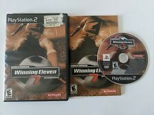 World Soccer Winning Eleven 7 International Sony PlayStation 2 PS2 2004 Complete