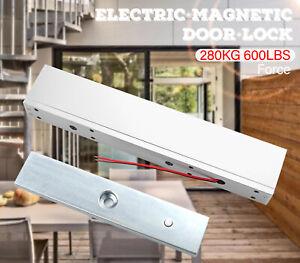 Magnetic Lock Access Control Door 280KG/600lbs Electromagnetic Lock Durable